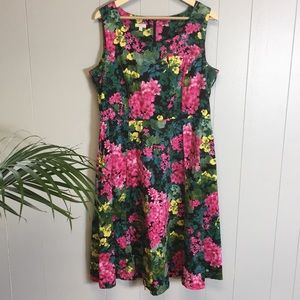 Talbots Floral Dress Size 16